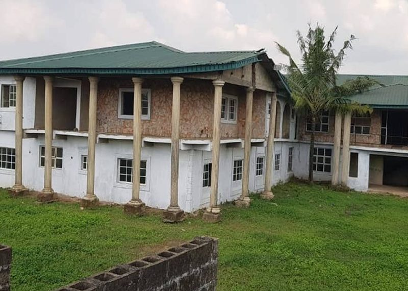 An uncompleted 42 rooms hotel for sale in Lagos, Ikorodu, Itamaga