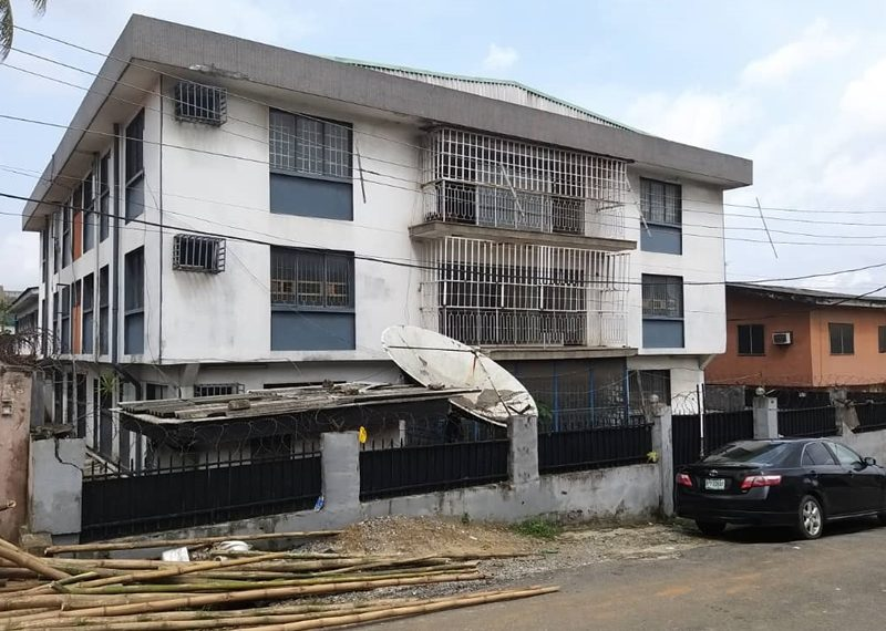 Vacant block of flats for sale
