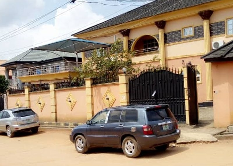 A 5 bedroom detached house in Egbeda