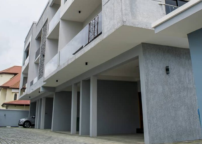 A terrace duplex for sale in Lekki Phase 1