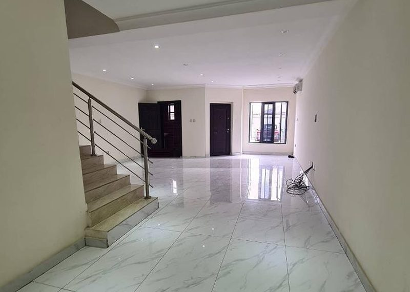 A 4 bedroom terrace duplex in Oniru