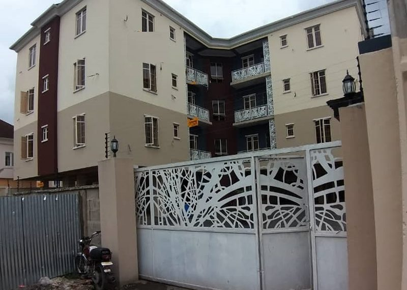 A block of 6 flats for sale in Ikeja GRA
