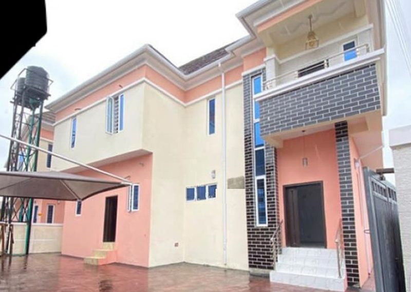 A fully detached duplex for sale in Ajah