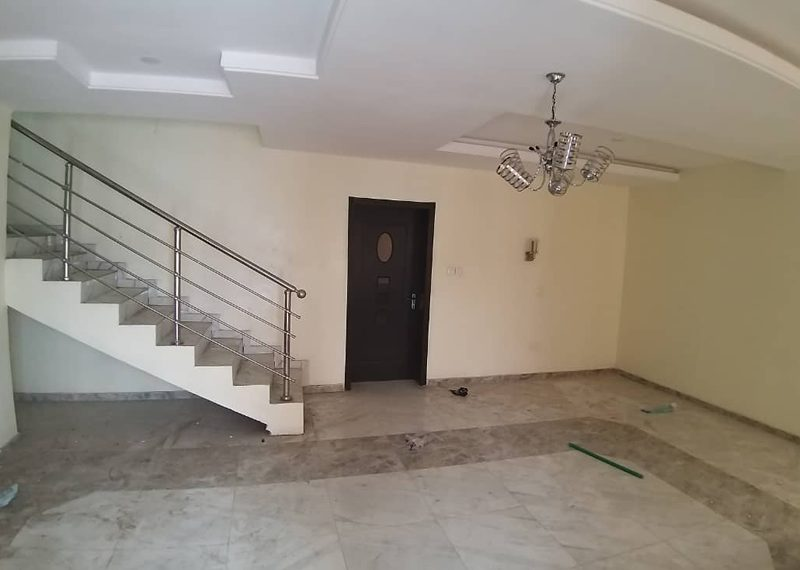 A 5 bedroom semi detached house in Ilupeju Estate
