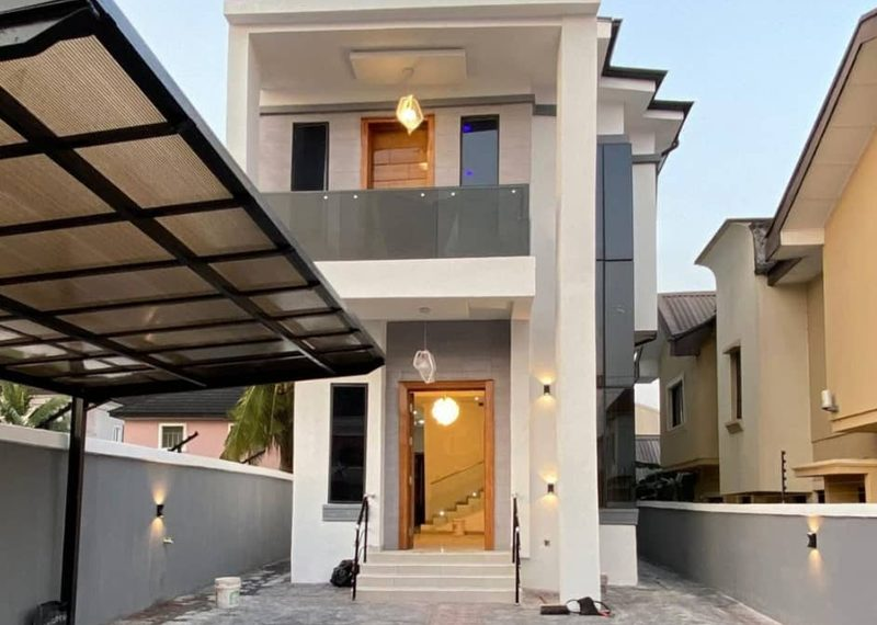 A fully detached duplex in Ajah