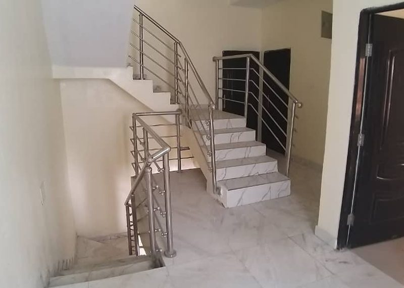 A newly built semi detached duplex