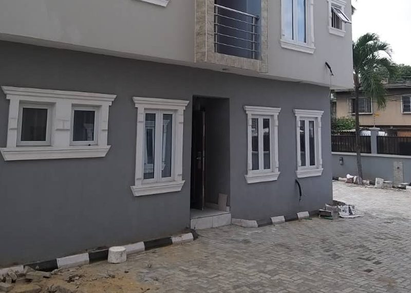 A semi detach house in Lagos