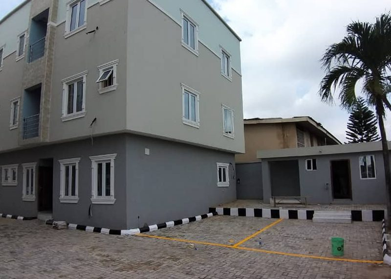 Newly built semi detached duplex in Ilupeju Estate