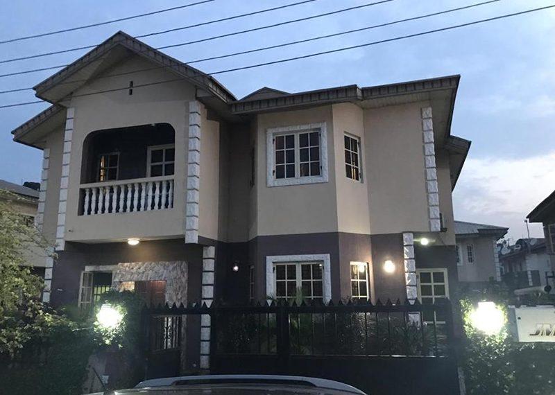 4 bedroom fully detached duplex in Gbagada Ifako