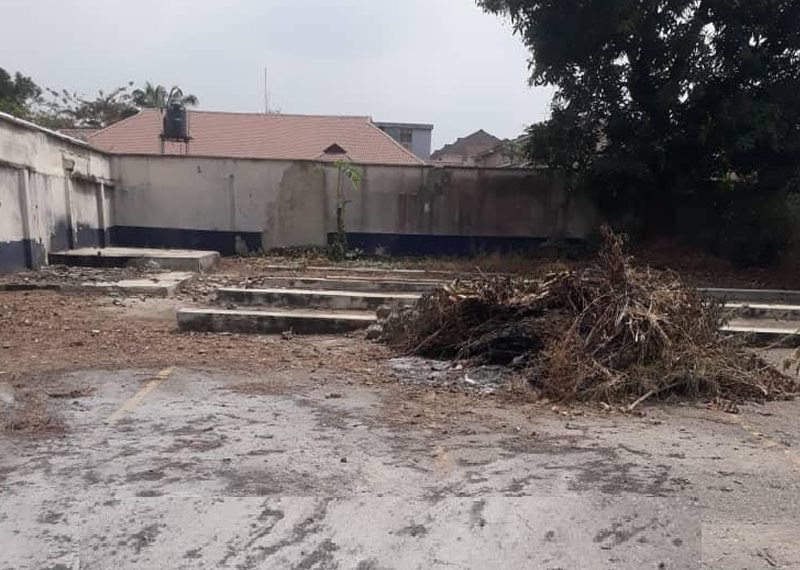 5,100sqm land with structure in Ikeja GRA