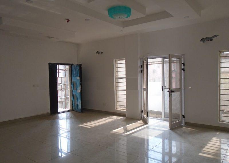 A block of 10 flats for sale in Ilupeju Estate