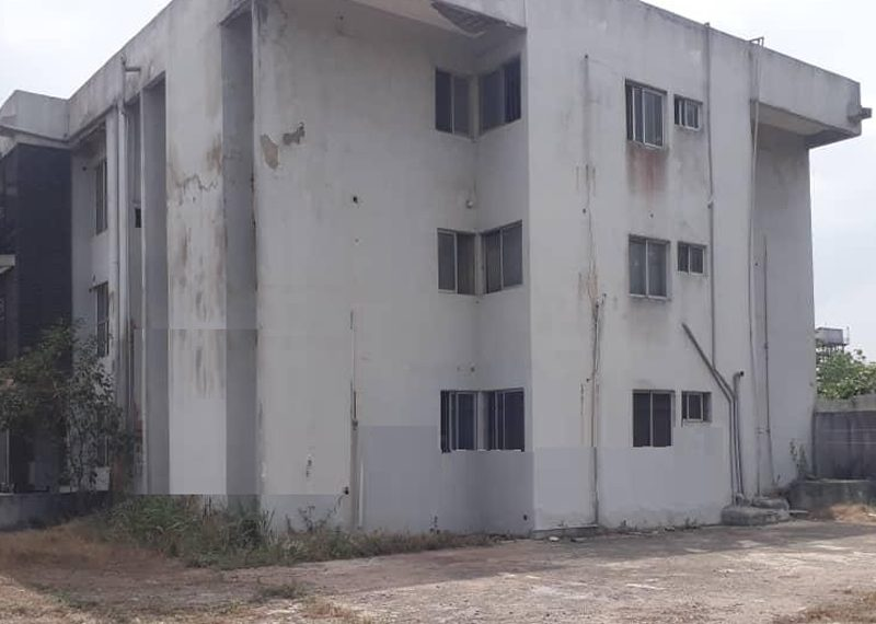 Land with a block of 6 flats for sale in Ikeja