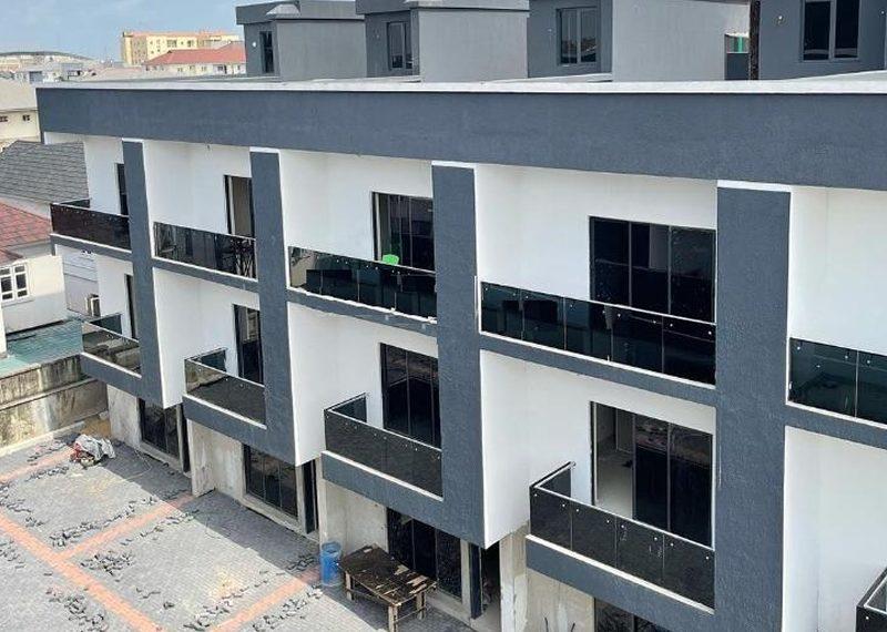 A 4 bedroom terrace duplex in Lekki Phase 1