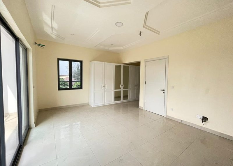 A newly built 4 bedroom terrace duplex in Lekki