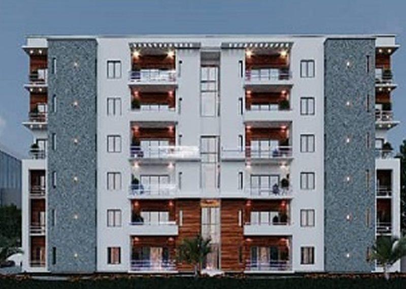 off plan 3 bedroom flat