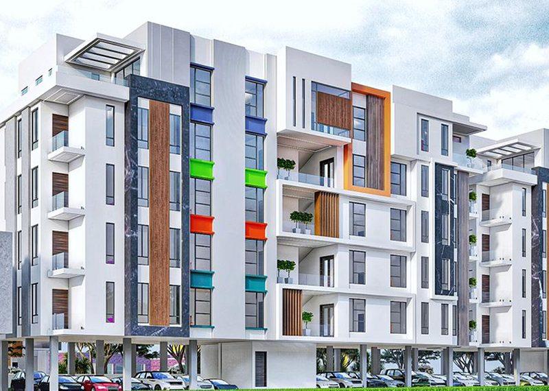 off plan luxury 3 bedroom flat for sale in Ikeja