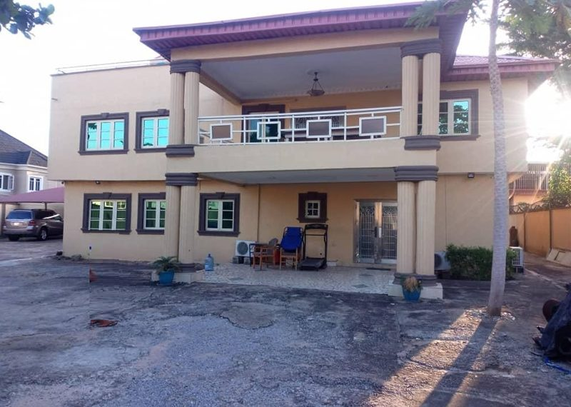 A 7 bedroom fully detached duplex for sale in Adeniyi Jones, Ikeja