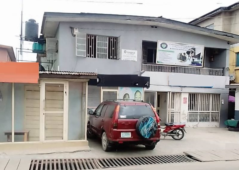 A block of flats for sale in Aguda Surulere