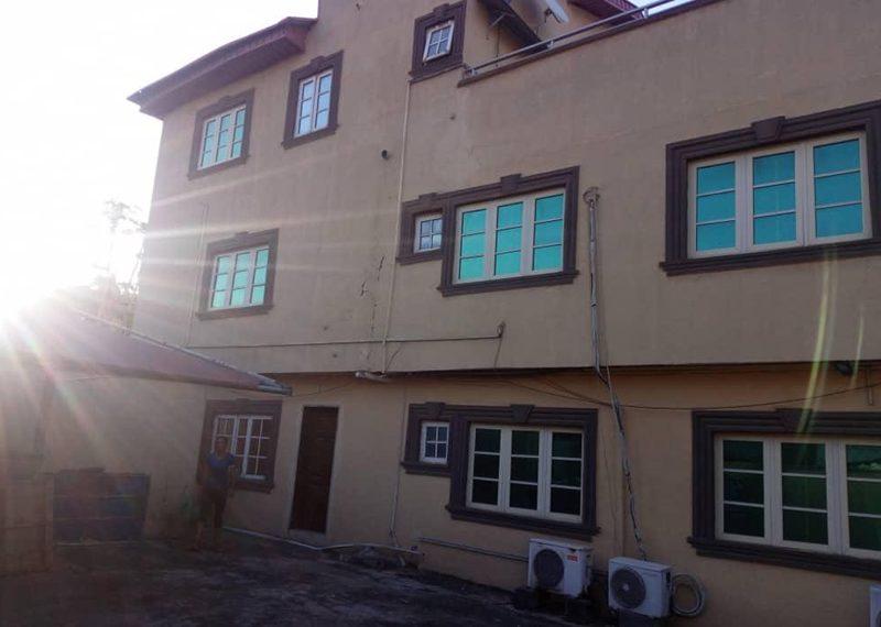 A detached 7 bedroom house in Ikeja