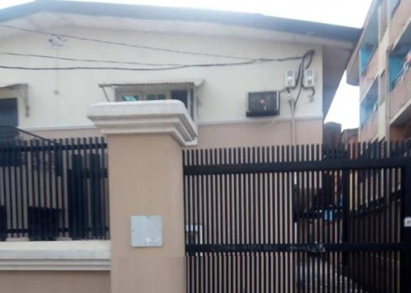 A block of flats for sale in Aguda, Surulere